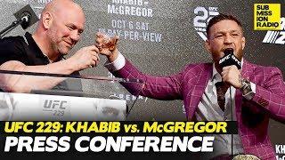 CRAZY UFC 229: Khabib vs. McGregor Press Conference