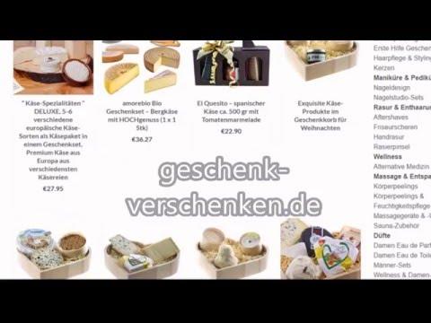 Geschenkidee: Köstliche Präsente online einkaufen