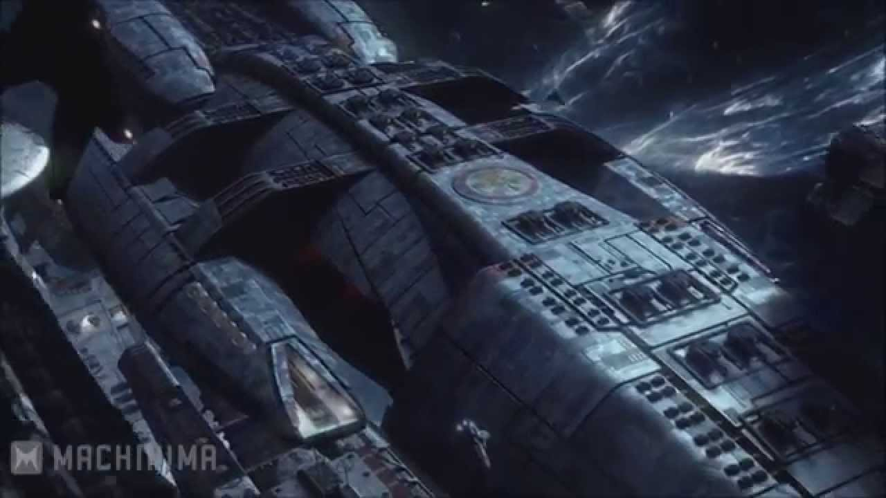 Battlestar Galactica Blood And Chrome Serie