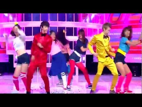 [ HD 720p] Donghae & Eunhyuk (Super Junior) - Oppa, Oppa (Comeback stage) Dec 18 ,2011