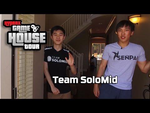 TSM LoL – HyperX Gaming House Tour