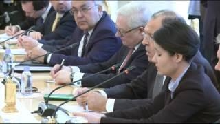 С.Лавров и Р.Тиллерсон | Sergey Lavrov & Rex Tillerson