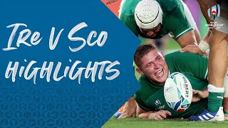 HIGHLIGHTS: Ireland v Scotland - Rugby World Cup 2019