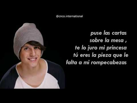 Cnco - No Entiendo |Lyrics/ Letra + Pictures| HD