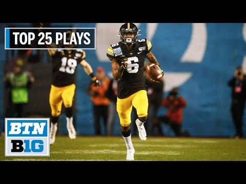 Iowa Football: The Top 25 Plays of 2019 | Big Ten Football