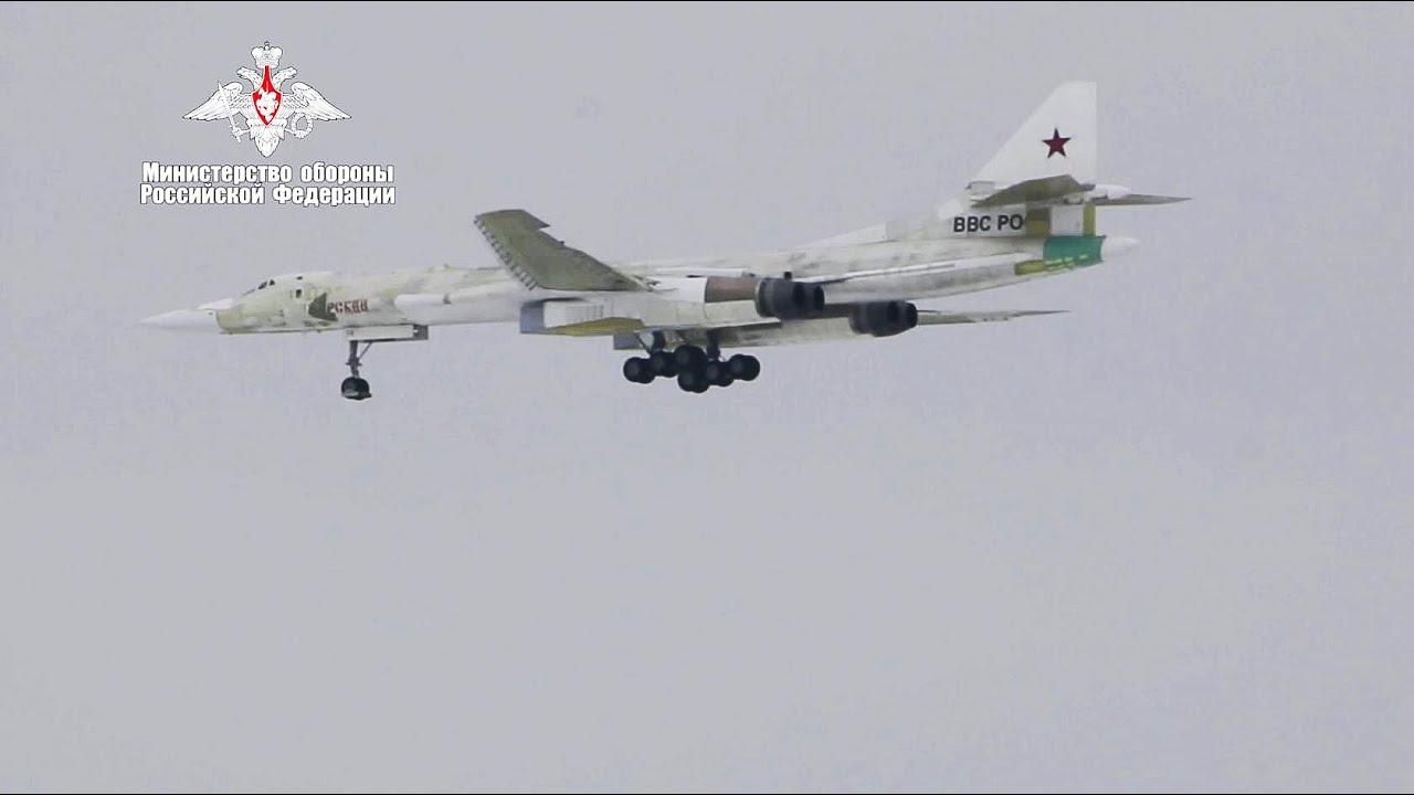 Первый полет модернизированного ракетоносца Ту-160М