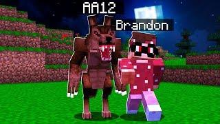 I PRANKED my BEST FRIEND as a WEREWOLF in Minecraft! (Minecraft Trolling)