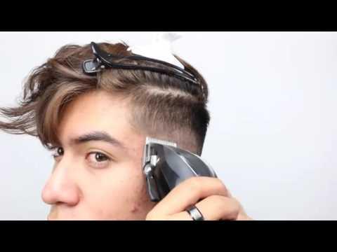看老外帅哥如何自己剪头发,果然是人才呀!!!