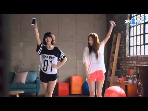 [Vietsub] CF SKT LTE  Sulli & Yoona {T-Express Team}[360kpop]