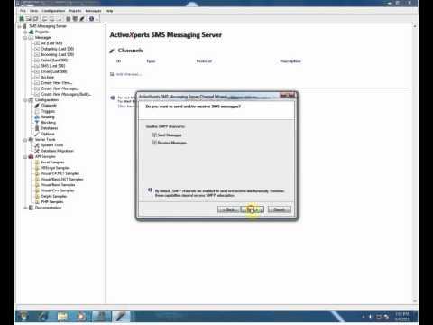 ActiveXperts SMS Messaging Server - Send SMS through SMPP