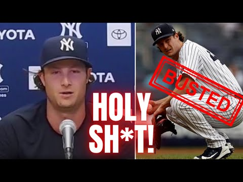 Gerrit Cole Gets Caught In A Lie   Gives AWFUL Answer When Asked About Cheating With Spider Tack