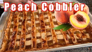 How to make Peach Cobbler like a boss