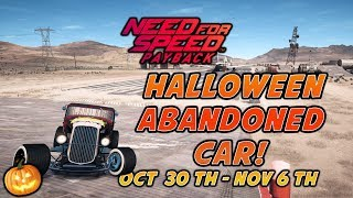 Need for Speed Payback Halloween Abandoned Car Location!