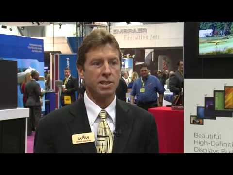 Brian Wilson speaking on Flight Display System partnership