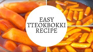 Tteokbokki Recipe Easy
