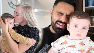 ABBEY LEFT US FOR THE DAY | Looking After Noah Alone