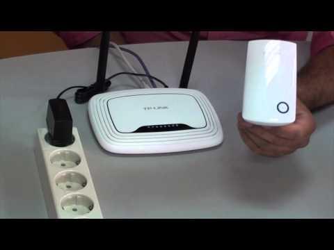 Manual para instalar un repetidor Wifi.