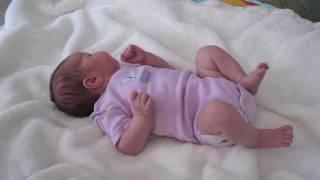 Newborn Bree at 5 days old