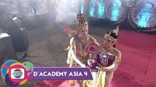 KEREN!!! Wayang Orang Bharata Beraksi Arak Piala DA Asia 4 | Konser Kemenangan DA Asia 4