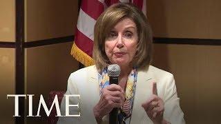 Nancy Pelosi Slams President Trump's Threatened Deportations   TIME