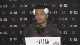 Justin Fields post-game interview | National Championship: Ohio State vs. Alabama