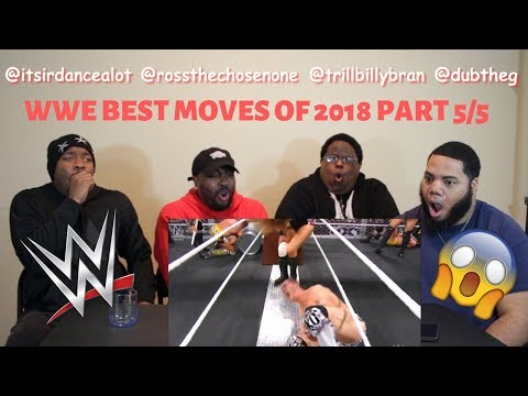 WWE Best Moves Of 2018 Part 5/5 - REACTION!!