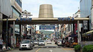Driving in Korea: Anseong city (South of Gyeonggi Province) | 경기도 안성 시내