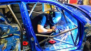 Episode 6 - Finally Starting On The Roll Cage - Subaru Impreza STi WRC / Gymkhana Build Series