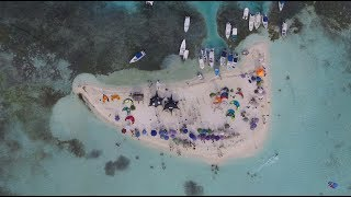 Kitesurf Party @ Los Roques, VZLA Kite & Play Los Roques. Aerial Shots!