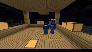 Minecraft : Sử Dụng Mod Nhảy Để  quảy