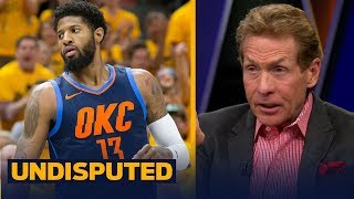 Skip Bayless: Paul George couldn't handle the pressure of playing with LeBron | NBA | UNDISPUTED