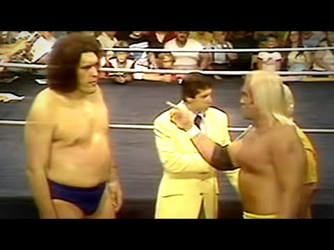 Andre The Giant rencontre Hulk Hogan