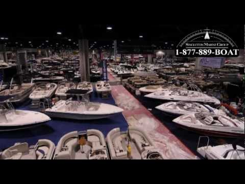 Atlanta Boat Show set up time lapse