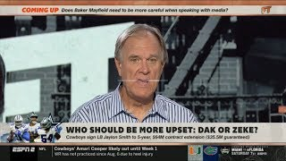 ESPN FIRST TAKE   Brian Billick REACT to Cowboys sign LB Jaylon Smith to 5-year/$64M extension