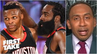 The Lakers take a 3-1 series lead over the Rockets. Is Houston finished?   First Take