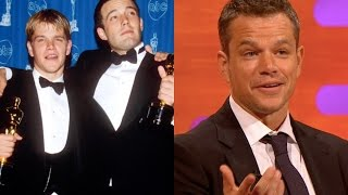 What Matt Damon Remembers Most From His Oscar Win - The Graham Norton Show