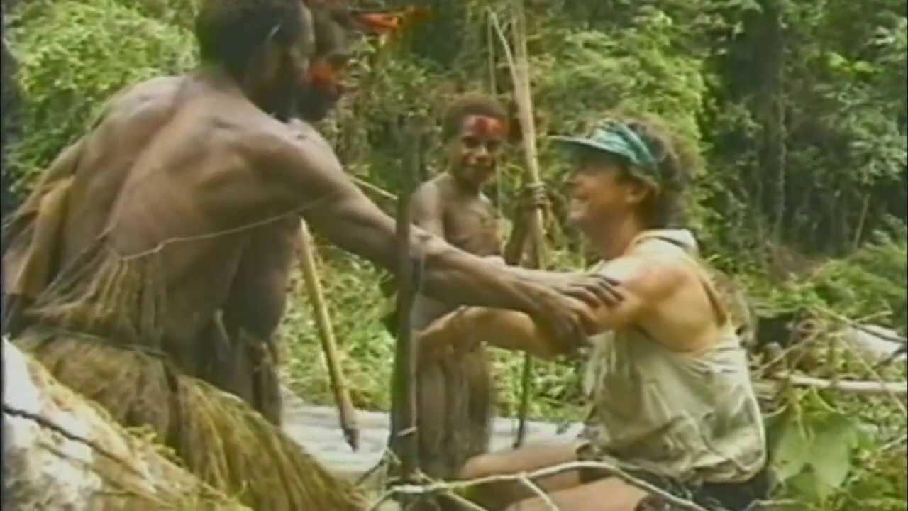 Амазонки сдикарями порно в джунглях видео