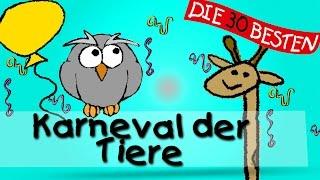 Karneval der Tiere - Die besten Faschings- und Karnevalslieder    Kinderlieder