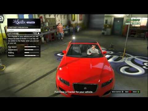 GTA Online: Car Insurance / Theft Prevention (Xbox 360)