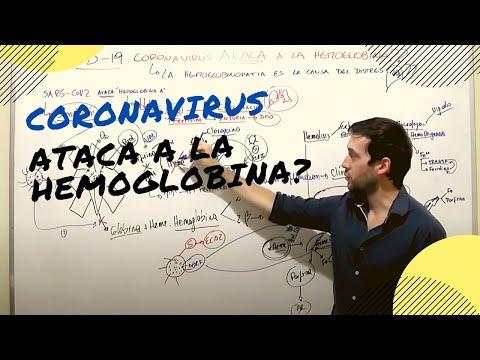 COVID 19 CORONAVIRUS ATACA A LA HEMOGLOBINA!!??