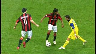 Ronaldinho & Ibrahimovic Masterclass 16.10.2010