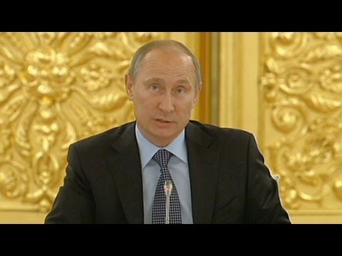 Putin says he could support strike on Syria given