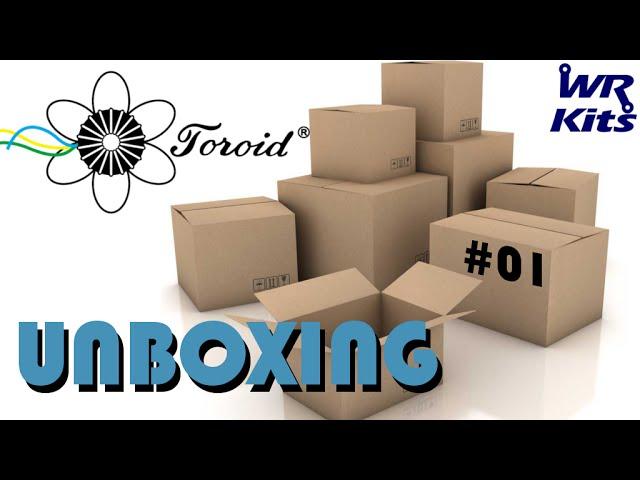 PRODUTOS TOROID DO BRASIL | Unboxing #01