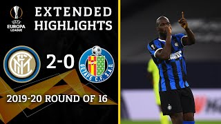 Inter Milan vs Getafe: Extended Highlights | 2-0 | UCL on CBS Sports