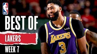 Best Of Lakers | Week 7 | 2019-20 NBA Season