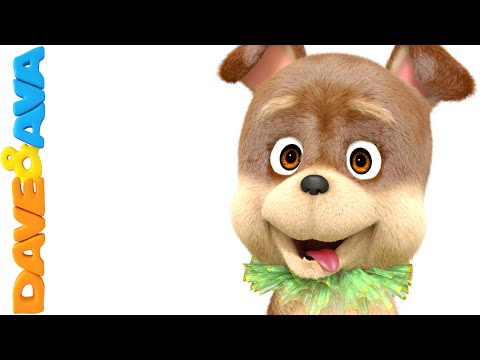 Bingo Dog Song | Nursery Rhymes | Baby Songs | Kids Rhymes | Childrens Videos From Dave and Ava