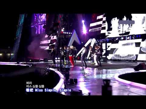 [LIVE  繁中字]  110815  Super Junior - Mr. Simple @ 仁川韓流觀光演唱會