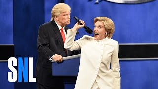 Donald Trump vs. Hillary Clinton Third Debate Cold Open - SNL
