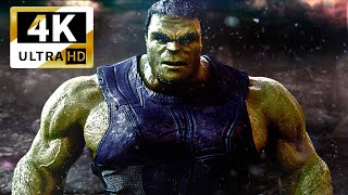 HULK vs THANOS  Fight INFINITY WAR THOR vs HULK HULKBUSTER CAPTAIN MARVEL, DEADPOOL IRON MAN Endgame