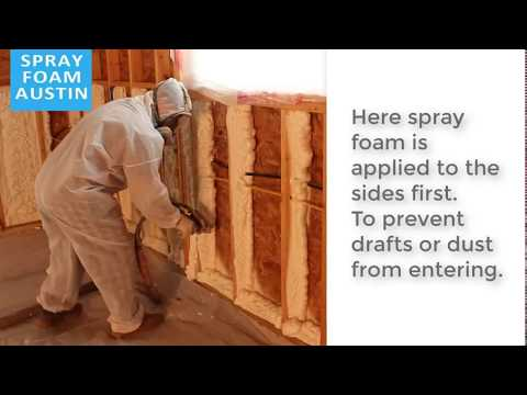 spray foam insulation austin (512) 931-1794 Insulate your home to reduce high electric bill